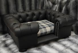 shop balmoral toy leather and faux leather quality dog beds