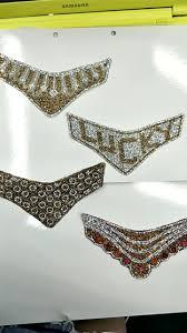 wholesales iron on rhinestone decoration beaded glass shoe