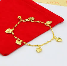 new arrival fashion 24k gp gold plated mens women new arrival fashion 24k gp gold color mens jewelry bracelet yellow