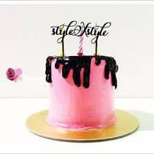 customised name cake topper birthday wedding cake topper design