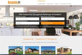 Hausanbieter Webseiten Relaunch Von Bungalow De Viminds Onlinemarketing