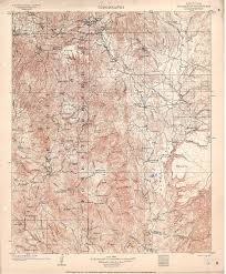 Topographic Map Of Arizona by Collection C 007 Usgs Topographic Map Of Bradshaw Mountains Az