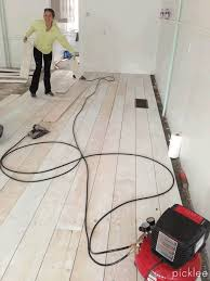 make your own wood floors with plywood