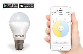easybulb white smartphone controlled light bulb