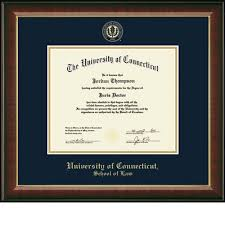 frame for diploma of connecticut storrs cus bookstore church hill