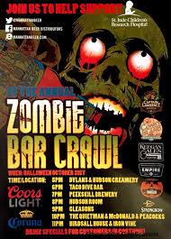 zombie bar crawl taco dive bar taco dive bar