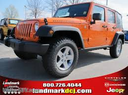 orange jeep wrangler unlimited for sale 2012 jeep wrangler unlimited rubicon 4x4 in crush orange 198094