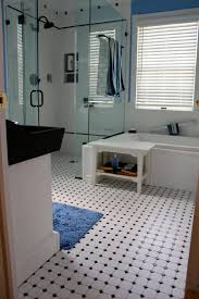 cool black white blue bathroom excellent home design top with