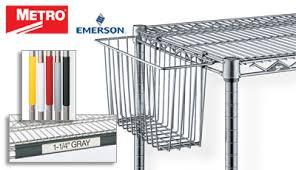 Metro Wire Shelving by Metro Wire Shelf Parts U0026 Accessories Intermetro Storage Baskets