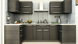 Designs Of Small Modular Kitchen Brown And Black Kitchen Designs Small Modular Kitchen Design Brown