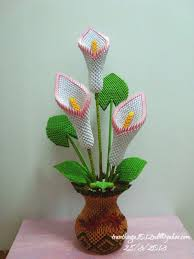 3d Origami Flower Vase Instructions Origami Origami Origami Best 25 Simple Origami Tutorial Ideas On