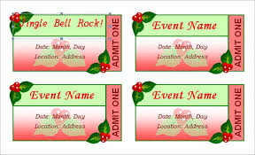 doc create tickets template u2013 event ticket templates make your