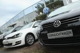 volkswagen cars volkswagen resale prices drop 13 percent