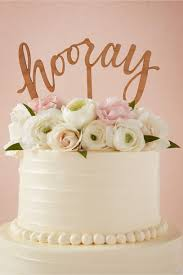 cake topper hooray cake topper in sale bhldn
