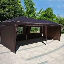 Patio Tent Gazebo by Fch 10 U0027x20 U0027 Ez Pop Up Canopy Tent Outdoor Patio Party Car Canopy