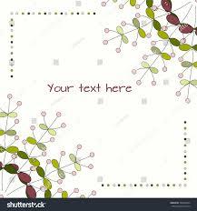 doodle presentations background doodle herbs template eco design stock vector 509398924