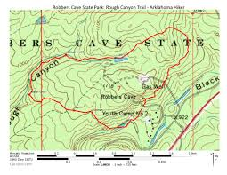 Map Of Arkansas State Parks by Robbers Cave Rough Canyon Trail 3 Mi Arklahoma Hiker