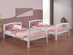 girls white beds simply white bed frame with soft pink colors for twin girls with
