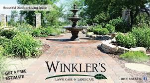 what do landscapers do june landscape update winkler s lawn care landscape