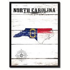 North Carolina Flag History North Carolina State Home Decor Office Wall Art Decoration Bedroom