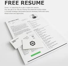 Resume Indesign Template Free 10 Creative Free Resume Templates To Download Smashingapps Com