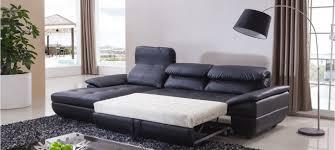 canape d angle en cuir noir canapé d angle gauche convertible cuir noir mezzio