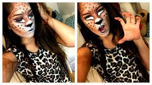 leopard halloween costume leopard costume halloween tutorial youtube