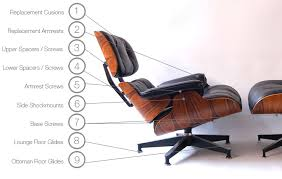 Lounge And Ottoman Eames Lounge And Ottoman 670 671 Parts