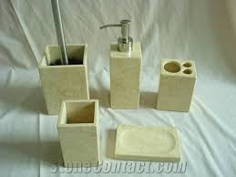 dl stone bathroom accessories natural stone soap sunny yellow