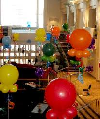 Balloons On Sticks Centerpiece by Balloons Over Atlanta Balloon Delivery Buy Balloons Kids