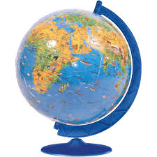 Children S Map Of The World by Ravensburger Children U0027s World Map Puzzleball 180 Piece Toys R Us