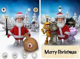 talking android talking santa android app this it s your turn to play