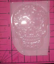 sugar skull molds sugar skull day of the dead dia de los muertos plastic resin