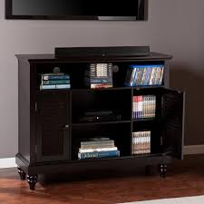 nice dvd storage cabinet with floating shape design featuring