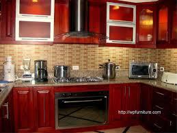 mahogany kitchen cabinet monsterlune