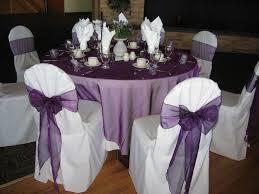 organza chair sashes chair sash purple organza chair flair