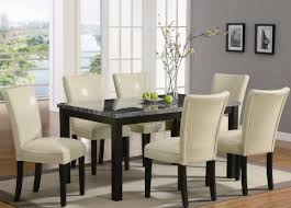 Leather Parson Dining Chairs Coaster Set Of 2 Parson Dining Chairs In Leather Like