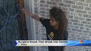 Burglars by Burglars Knock Before Breaking Into Homes