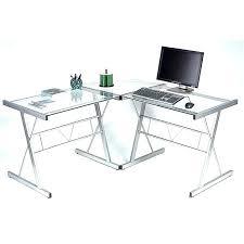 plateau verre bureau bureau en verre d angle bureau plateau verre angleterre velove me