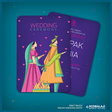contemporary indian wedding invitations scd balaji creative indian wedding invitations