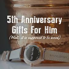 fifth anniversary gift ideas for him emejing fifth wedding anniversary ideas photos styles ideas