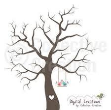 wedding guestbook wedding fingerprint tree wedding by signmepretty