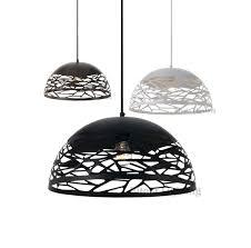 black and white pendant lights farina drum pendant light 30 40 50 sizes black bronze white