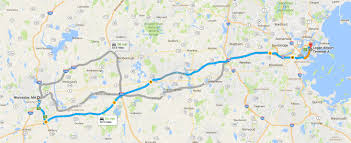 Boston Logan Airport Map Worcester Car U0026 Limo Service Transportation To And From Boston