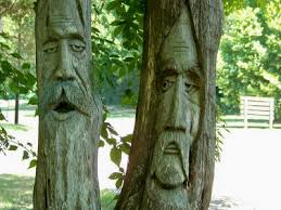 orr park tree carvings montevallo alabama