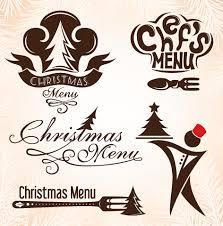 christmas menu design elements vector set 04 vector christmas