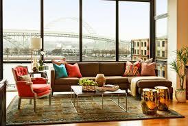 Contemporary Living Room - Urban living room design