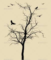 dead black tree black tree tattoo and tatoo