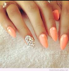 200 best almond nails design images on pinterest almond nails