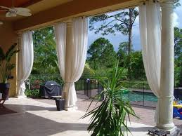 Black Outdoor Curtains Outdoor Curtains 18 Photos Of The Various Style Of The Outdoor